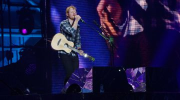 Ed Sheeran en Costa Rica 2017